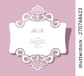 Elegant Lace Greeting Card ...