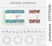 Natural Cosmetics Design Kit...