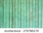 Design Element. Wooden Fence