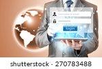 login and password | Shutterstock . vector #270783488