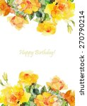 greeting card  invitation ... | Shutterstock .eps vector #270790214