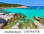 wonderful sea lagoon with clear ... | Shutterstock . vector #270793778