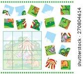 jigsaw puzzle game for children ... | Shutterstock .eps vector #270804614