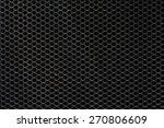 Dark Hexagon Steel Mesh...