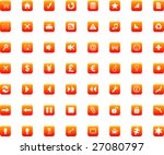 icons set vector | Shutterstock .eps vector #27080797