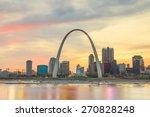 City Of St. Louis Skyline....
