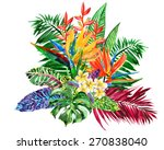 vivid bunch of different... | Shutterstock . vector #270838040