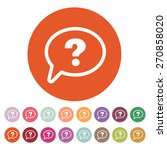 the question mark icon. help...   Shutterstock .eps vector #270858020