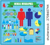 medical and health  healthcare  ... | Shutterstock .eps vector #270860744