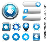 cube icon | Shutterstock .eps vector #270873734