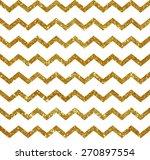 seamless pattern with golden... | Shutterstock .eps vector #270897554