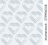 white paper with outline... | Shutterstock .eps vector #270906218