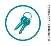 key icon. lock simbol. security ...