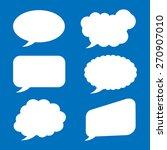 bubble speech icon great for... | Shutterstock .eps vector #270907010