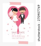 wedding ornaments and... | Shutterstock .eps vector #270907769