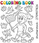 Coloring Book Girl Chasing...