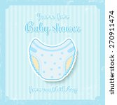 Cute Baby Shower Invitation Fo...