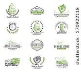 vector set of labels  badges... | Shutterstock .eps vector #270922118