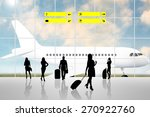 international airport terminal... | Shutterstock . vector #270922760