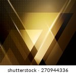 vector color abstract geometric ... | Shutterstock .eps vector #270944336