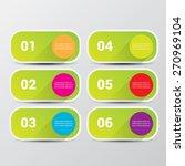 clean modern green digital... | Shutterstock .eps vector #270969104