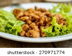 Soy Meat With Lettuce