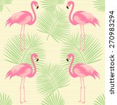 exotic  tropical seamless... | Shutterstock .eps vector #270983294