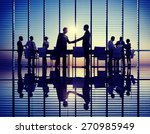 group of business people... | Shutterstock . vector #270985949