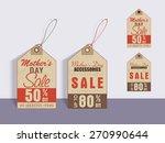 happy mother's day celebration... | Shutterstock .eps vector #270990644