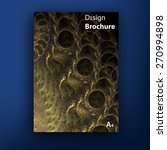 vector colorful brochure  ... | Shutterstock .eps vector #270994898