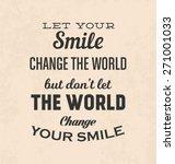 retro typographic poster design ...   Shutterstock .eps vector #271001033