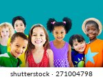 diversity children friendship... | Shutterstock . vector #271004798