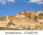 bedouin house in tunisia | Shutterstock . vector #27100735