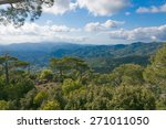 The View Of Troodos Mountains...