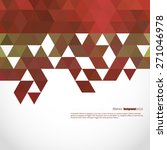 abstract  geometric background... | Shutterstock .eps vector #271046978