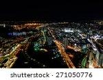 Night View Of Minato Mirai 21...