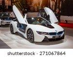 Постер, плакат: BMW i8 plug in hybrid
