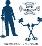 metal sensor | Shutterstock .eps vector #271072238