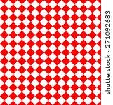 red geometric pattern | Shutterstock .eps vector #271092683