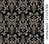 lace seamless pattern with... | Shutterstock .eps vector #271125788