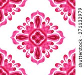 abstract seamless floral ... | Shutterstock .eps vector #271132979