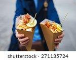 italian street food grilled... | Shutterstock . vector #271135724