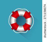 icon lifebuoy | Shutterstock .eps vector #271158074