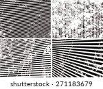 grunge set stripe. vector... | Shutterstock .eps vector #271183679