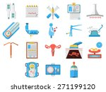 set of flat colors style vector ... | Shutterstock .eps vector #271199120