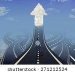 career development business... | Shutterstock . vector #271212524