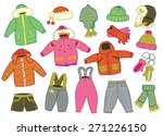 collection of winter children's ...