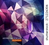vector abstract background of... | Shutterstock .eps vector #271226306