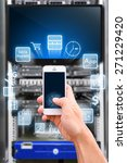 smart phone and technology... | Shutterstock . vector #271229420