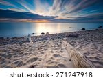 Beautiful Rocky Sea Shore With...